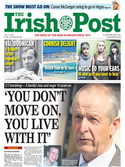Peligoni in Irish Post