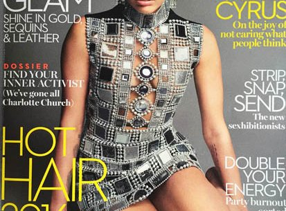 Folly Boutique in Marie Claire