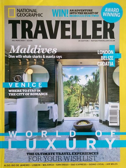 Access Trips in National Geographic Traveller