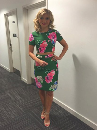 Rachel Riley in London Road