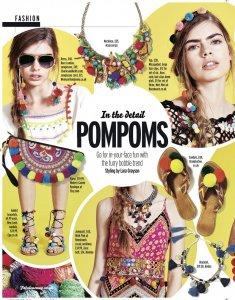Liz Parry PR fashion coverage, fabulous magazine