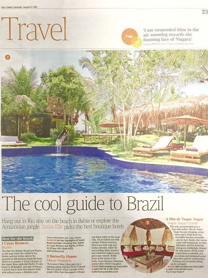 Chic Retreats in Times Travel