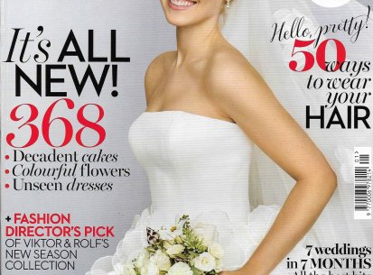 Rodrigo Otazu in Brides Magazine