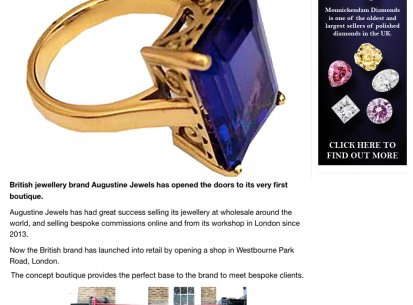 Augustine Jewels in Professional Jeweller