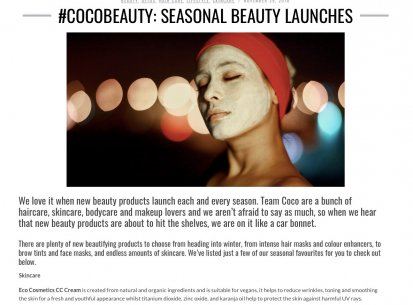 Eco Cosmetics in House of Coco