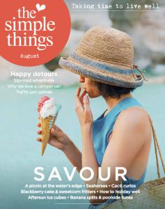 Simple Things mag, Liz Parry PR