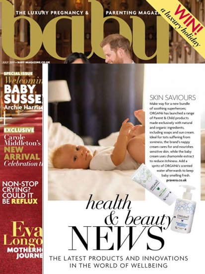 Organii in Baby Magazine