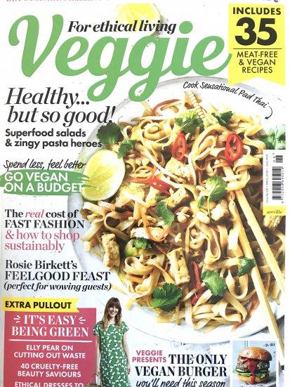 Ben & Anna in Veggie Magazine