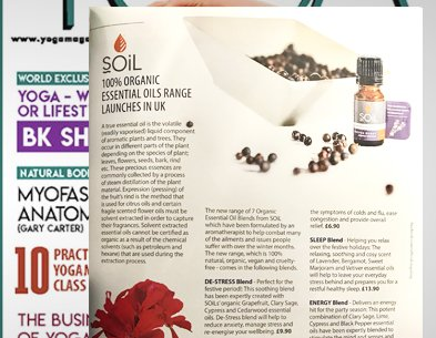 SOiL in Yoga Magazine