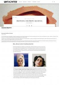 Benecos in Untainted Magazine