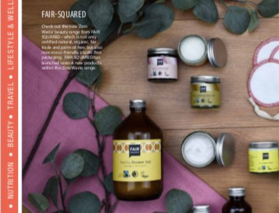 Fair Squared in Yoga Magazine