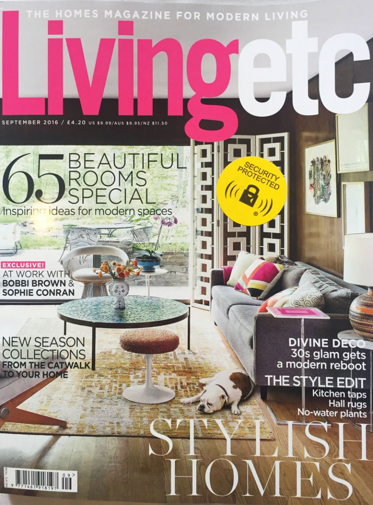 Liz parry pr coverage in living etc