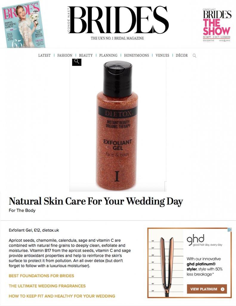 Dietox on Brides.co.uk