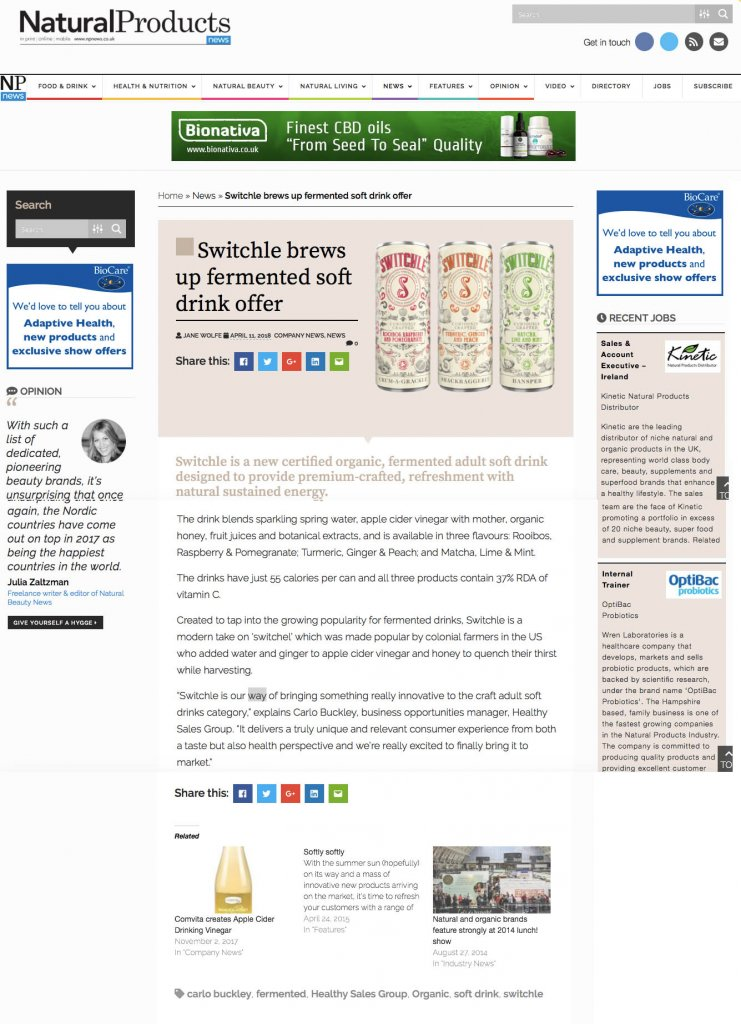 Natural Product News
