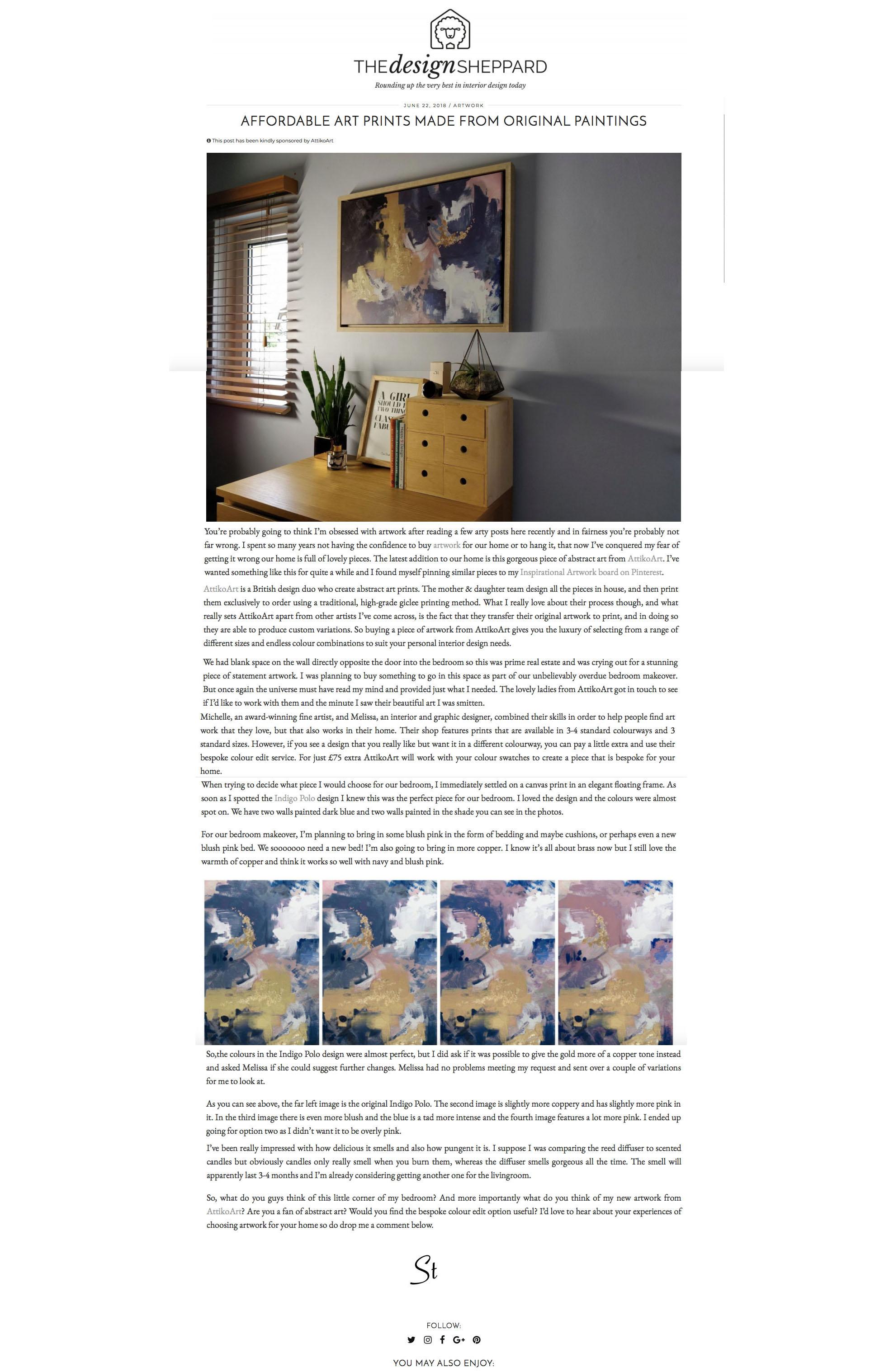 AttikoArt in Design Sheppard