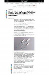 Huffington Post UK, features Fair Squared, Liz Parry PR