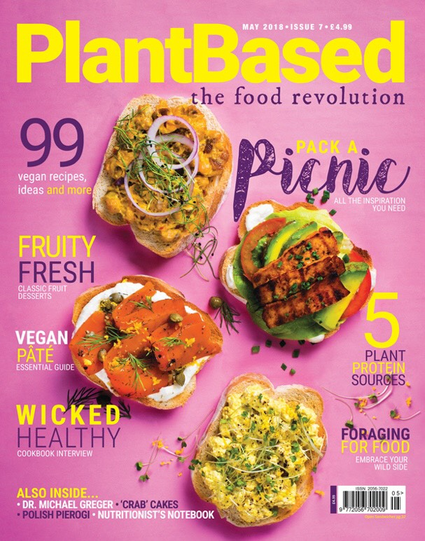 Rayners in Plant Based Mag, Liz Parry PR