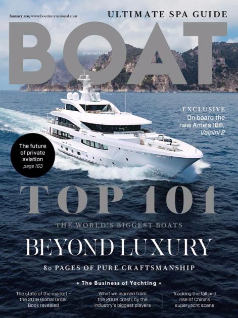 explora in Boat International