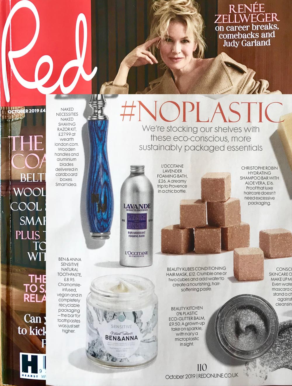 Ben & Anna in Red magazine, Liz Parry PR