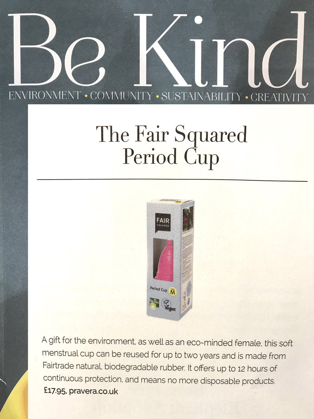 Fair Squared in Be Kind Magazine, LPPR