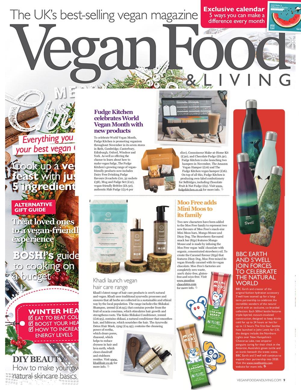 Khadi in Vegan Food & Living