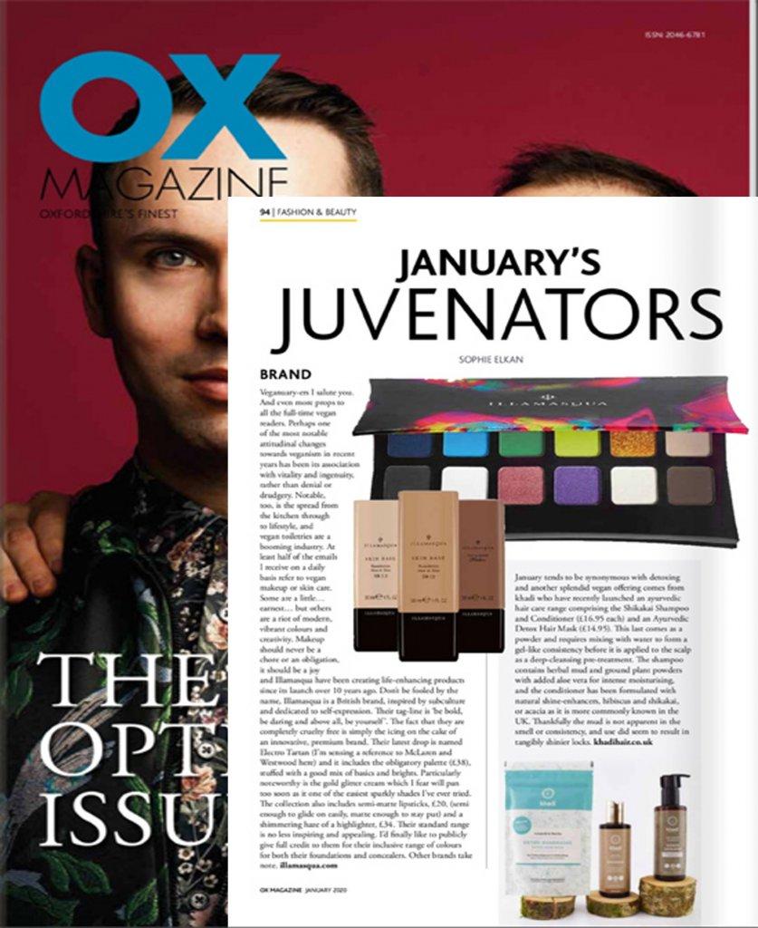 Khadi in Ox Magazine