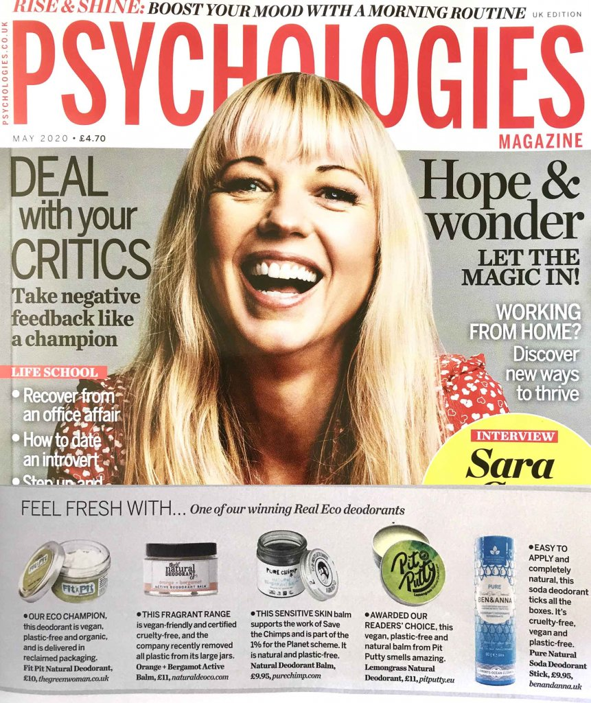 Ben & Anna in Psychologies, Liz Parry PR