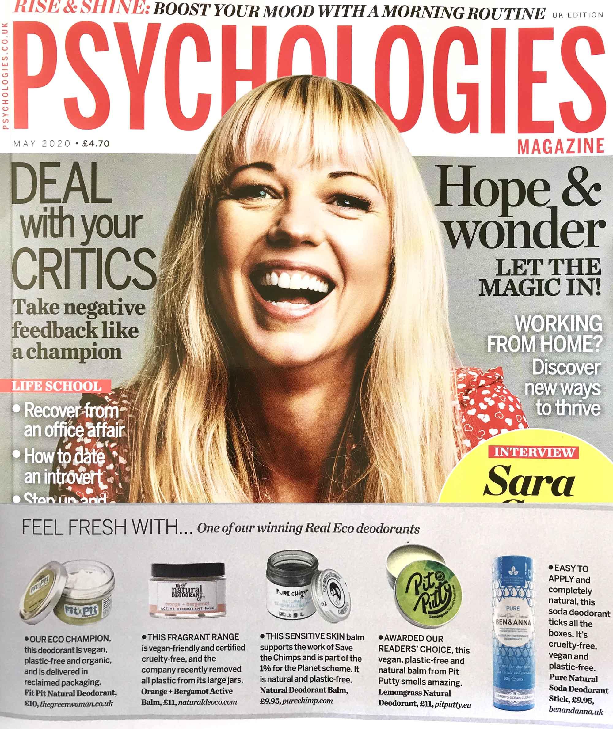 Ben & Anna in Psychologies, Liz Parry PR