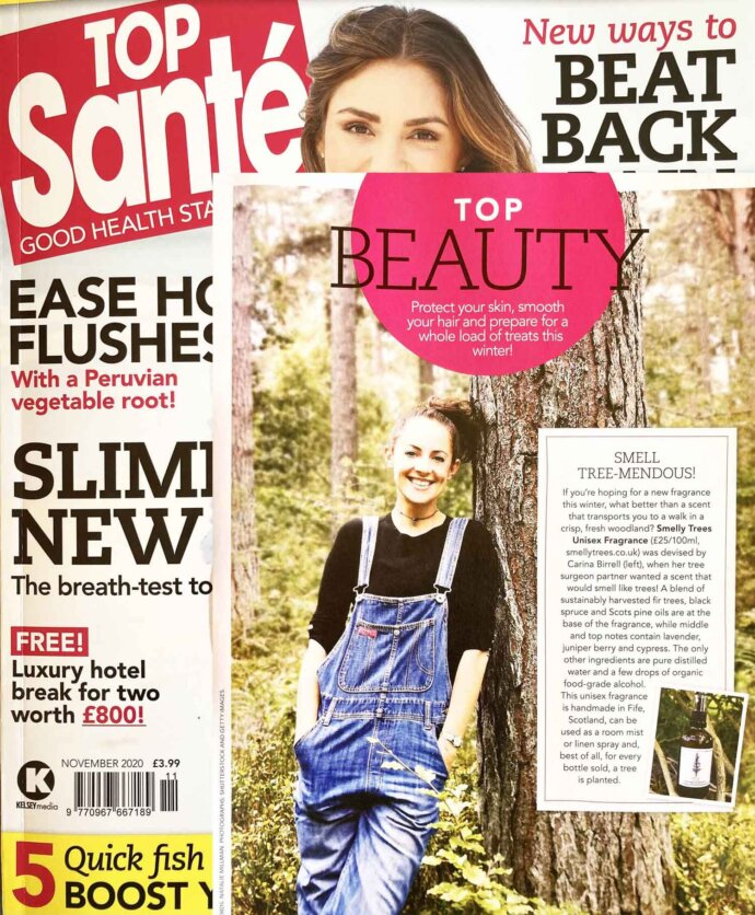 consumer lifestyle PR Top Sante