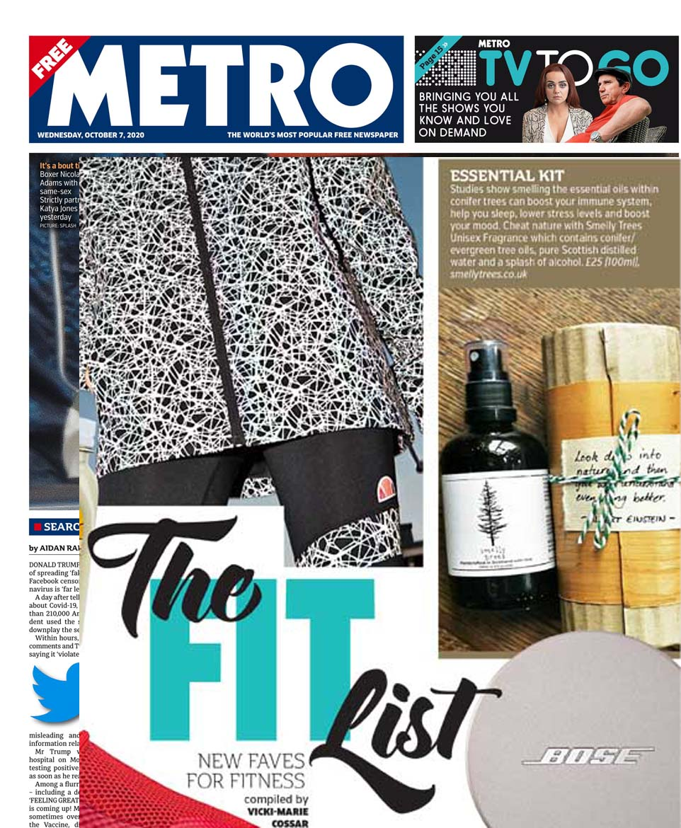 metro, smelly trees, LPPR oct 20