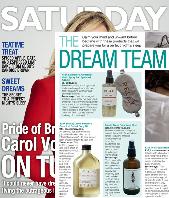 Saturday mag, Smelly Trees, LPPR
